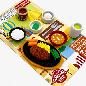 383152 FAMILY RESTAURANT ERASERS CARD-1 CARD