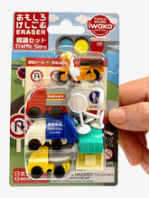 Load image into Gallery viewer, 383241 IWAKO TRUCK ERASER CARD-1 CARD