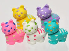 Load image into Gallery viewer, 384571 Iwako Colorz Tiger -1 box of 5 Erasers