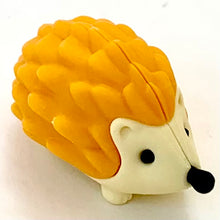 Load image into Gallery viewer, 380486 IWAKO HEDGEHOG ERASERS-YELLOW-1 eraser
