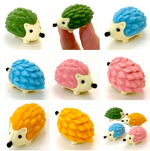 Load image into Gallery viewer, 380483 IWAKO HEDGEHOG ERASERS-BLUE-1 eraser