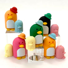 Load image into Gallery viewer, 382052 PENGUIN FAMILY ERASERS-4 packs of 8 erasers