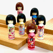 Load image into Gallery viewer, 380033 Iwako Kokeshi Japanese Doll Eraser-Yellow-1 eraser
