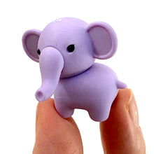 Load image into Gallery viewer, 380338 IWAKO ELEPHANT ERASER-Purple-1 eraser