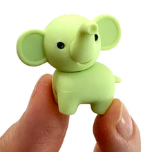 Load image into Gallery viewer, 380335 IWAKO ELEPHANT ERASER-Green-1 eraser