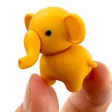 Load image into Gallery viewer, 380332 IWAKO ELEPHANT ERASERS NEW PASTEL COLORS-6 erasers