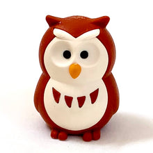 Load image into Gallery viewer, 380068 IWAKO OWL ERASERS-BROWN-1 eraser