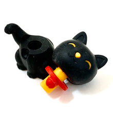 Load image into Gallery viewer, 380143 MANEKI WELCOME CAT ERASER-BLACK-1 ERASER