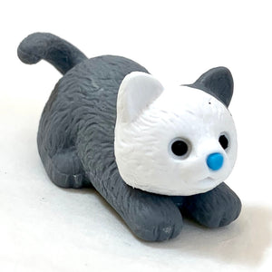 380028 Iwako CAT ERASER-GREY-1 ERASER