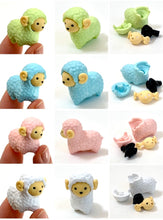 Load image into Gallery viewer, 380202 IWAKO SHEEP & LLAMA ERASERS-ASSORTED-7 erasers
