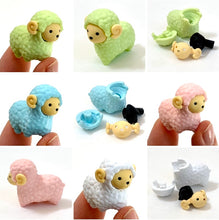 Load image into Gallery viewer, 380222 IWAKO SHEEP ERASERS-4 COLORS-4 erasers
