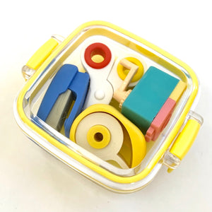 384331 4-IWAKO STATIONERY ERASERS IN A BOX-1 box of 4 erasers