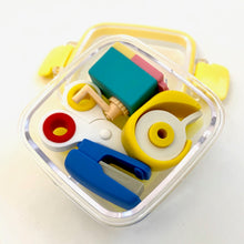 Load image into Gallery viewer, 384331 4-IWAKO STATIONERY ERASERS IN A BOX-1 box of 4 erasers