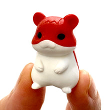 Load image into Gallery viewer, 384301 IWAKO 4-HAMSTERS ERASER IN A BOX-1 box