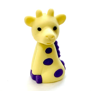 384511 IWAKO Colorz Giraffe -12 sets of 5 Erasers
