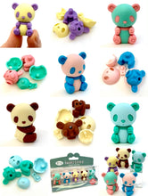 Load image into Gallery viewer, 384531 IWAKO Colorz Panda -1 box of 5 Erasers
