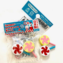 Load image into Gallery viewer, 380102 Iwako CANDY ERASER Assorted-6 ERASERS