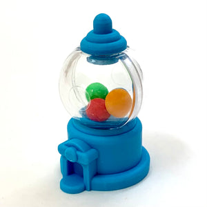 380105 Iwako CANDY ERASER Blue Gumball Machine-1 ERASER