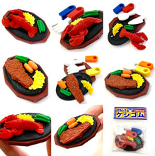 Load image into Gallery viewer, 383643 IWAKO LOBSTER DINNER ERASER SET - 3 ERASERS IN 1 BAG