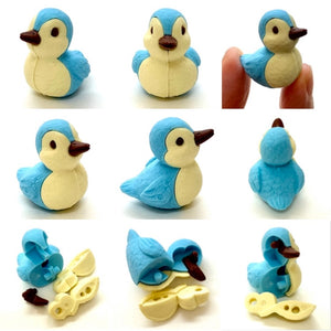 381445 DUCK ERASERS-2 COLORS-2 erasers