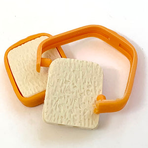 380732 2 SLICES OF BREAD ERASER-2 packs of 4 erasers