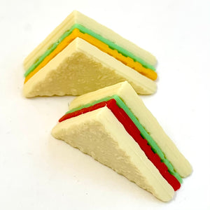 381622 BREAD ERASERS - 9 bags of 14 erasers