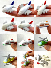 Load image into Gallery viewer, 381362 IWAKO AIRPLANE, HELICOPTER & CRUISE SHIP ERASERS-6 erasers