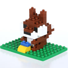 Load image into Gallery viewer, 38478 Iwako BLOCKS Squirrel Eraser-1