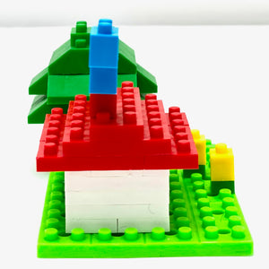 38476 Iwako BLOCKS Tree House Eraser-1