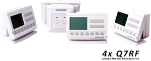 COMPUTHERM Q7RF - wireless programmable room thermostat 4X