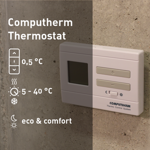 COMPUTHERM Q3RF - wireless room thermostat