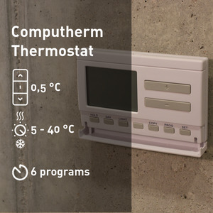 COMPUTHERM Q7RF - wireless programmable room thermostat
