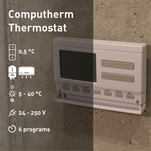COMPUTHERM Q7 - programmable room thermostat