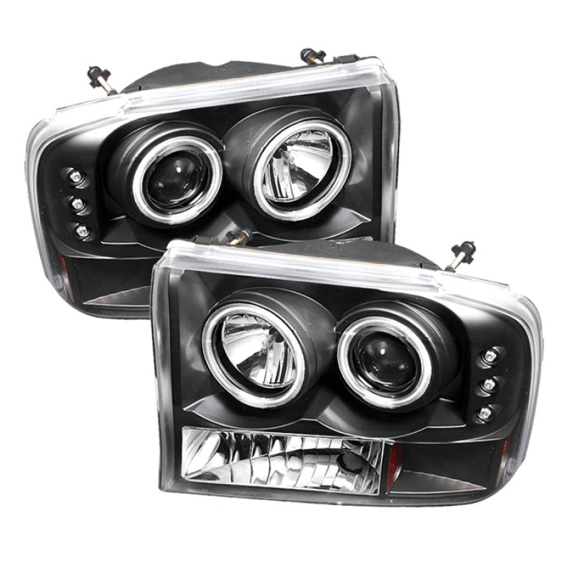 Spyder Ford F250 Super Duty 99-04 Projector Version 2 LED Halo LED Chrm PRO-YD-FF25099-1P-G2-C