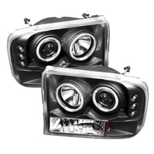 Load image into Gallery viewer, Spyder Ford F250 Super Duty 99-04 Projector Version 2 LED Halo LED Chrm PRO-YD-FF25099-1P-G2-C