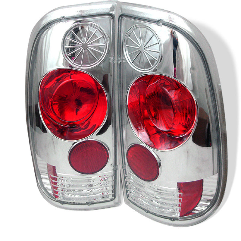 Spyder Ford F150 side 97-03/F250/350/450/550 Super Duty 99-07 Euro Tail Lights Chrm ALT-YD-FF15097-C