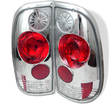 Load image into Gallery viewer, Spyder Ford F150 side 97-03/F250/350/450/550 Super Duty 99-07 Euro Tail Lights Chrm ALT-YD-FF15097-C