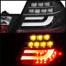 Load image into Gallery viewer, Spyder BMW E46 00-03 2Dr Coupe Light Bar LED Tail Lights Blk ALT-YD-BE4600-LBLED-BK