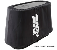Load image into Gallery viewer, K&N Air Filter Wrap - Black - 4.313in Base ID x 4.75in Top ID x 6.75in H