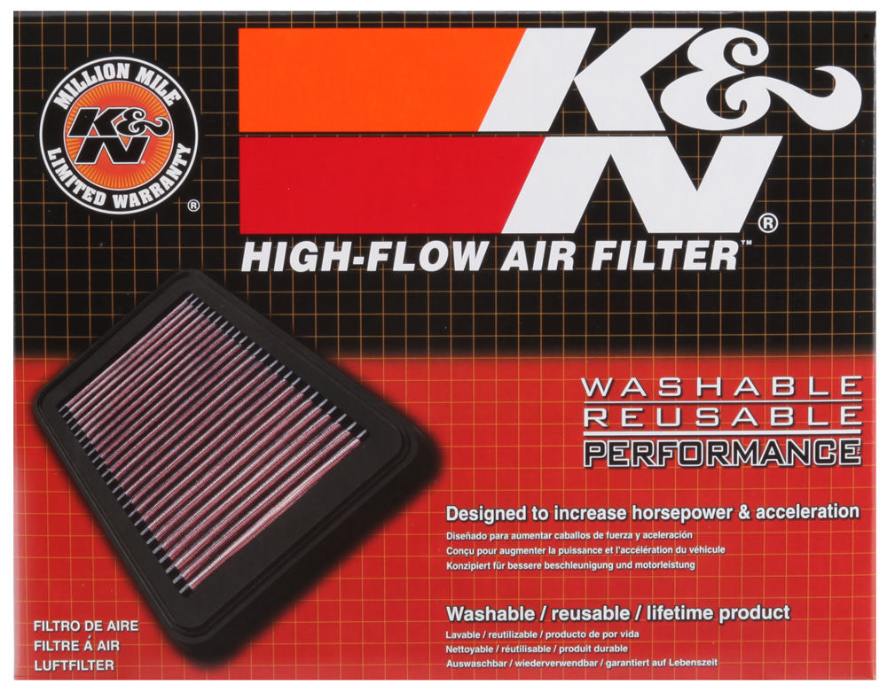 K&N 05-07 Chevy Corvette / 05-09 Cad XLR Drop In Air Filter