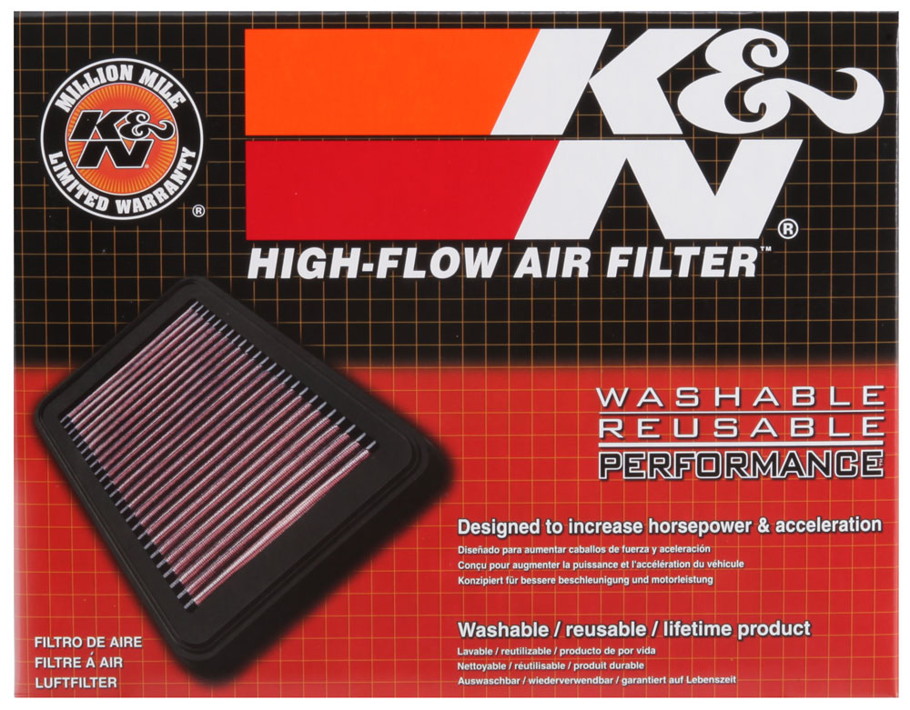 K&N 15-17 Honda Civic IX L4-2.0L Replacement Air Filter
