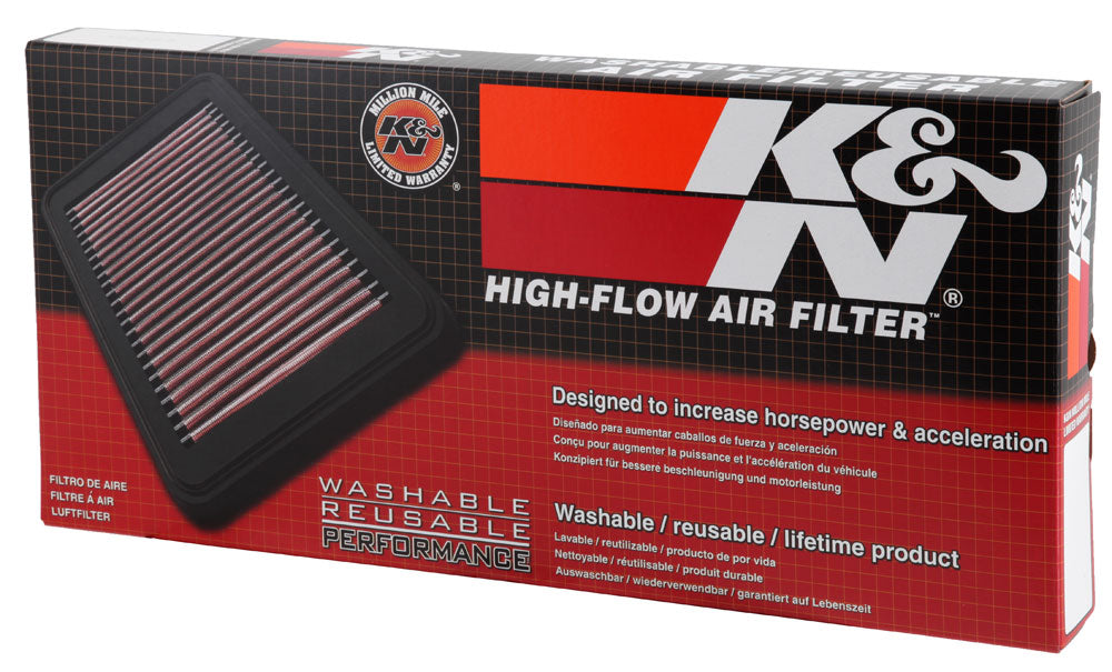 K&N 2014 Peugeot 308 L4-1.2L Drop In Air Filter