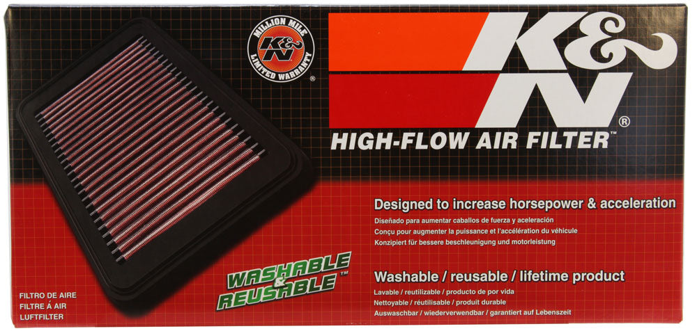 K&N 2010-2012 Fiat 500 1.3L L4 DSL Drop In Replacement Air Filter
