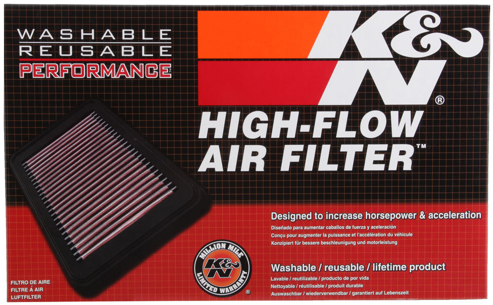 K&N 2016 Chevy Camaro SS 6.2L Drop In Air Filter