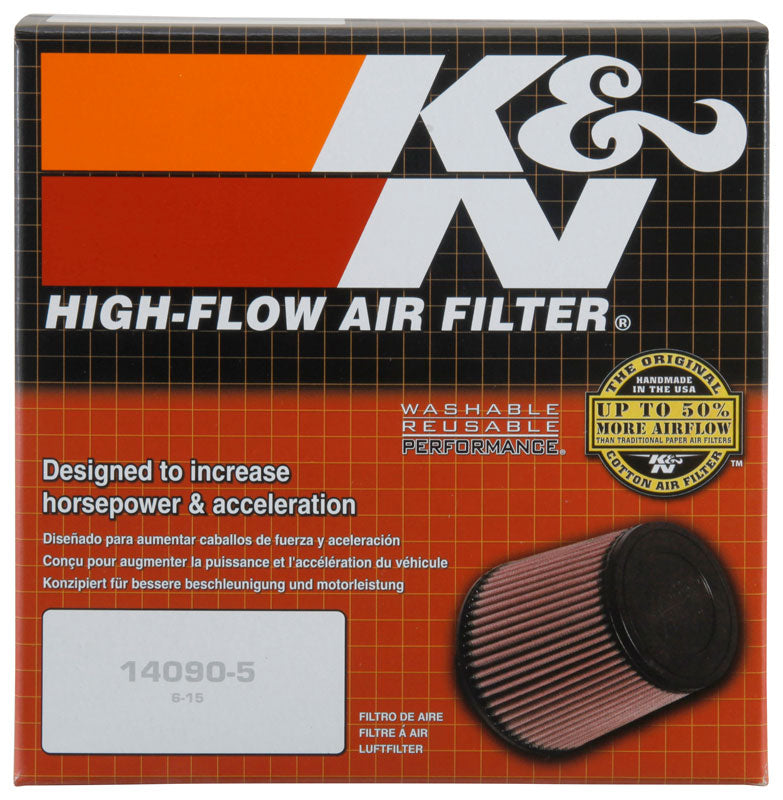 K&N Replacement Industrial Air Filter - Round for Ingersoll Rand 4in ID x 6.5 inch OD x 5.75in H