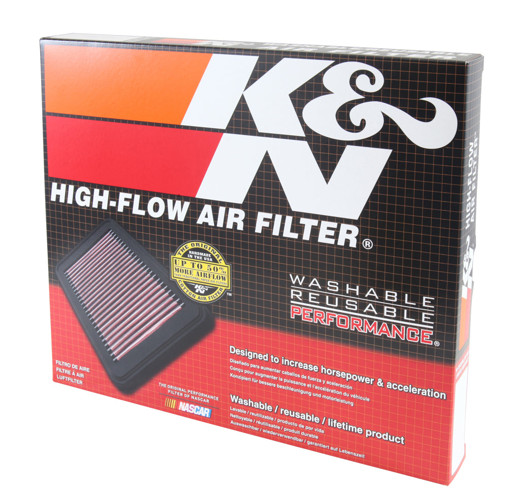 K&N 2016 Nissan Titan XD V8-5.0L Replacement Drop In Air Filter