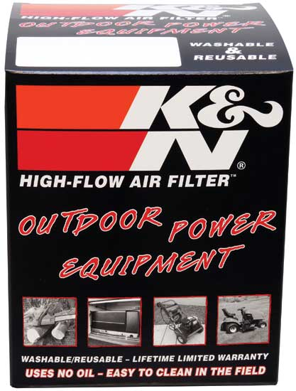 K&N Replacement Industrial Filter 4in O/S L / 2.875in O/S W / 2.813in H Honda GX160-QX2/GX200-QX2
