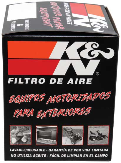 K&N Replacement Air Filter - Rectangular for Kawasaki FR651V/FR691V/FS481V/FS541V/FS600V/FS730V