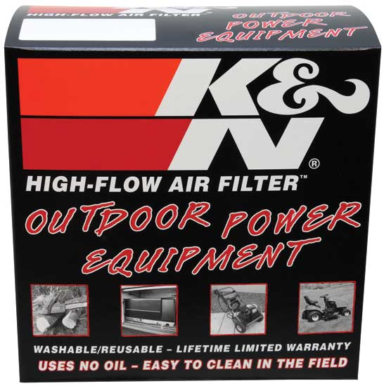K&N Custom Air Filter - Round 6-1/16in OD 4-11/16in ID 1-7/8in H