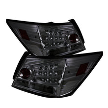 Load image into Gallery viewer, Spyder Honda Accord 08-12 4DR LED Tail Lights Smoke ALT-YD-HA08-4D-LED-SM